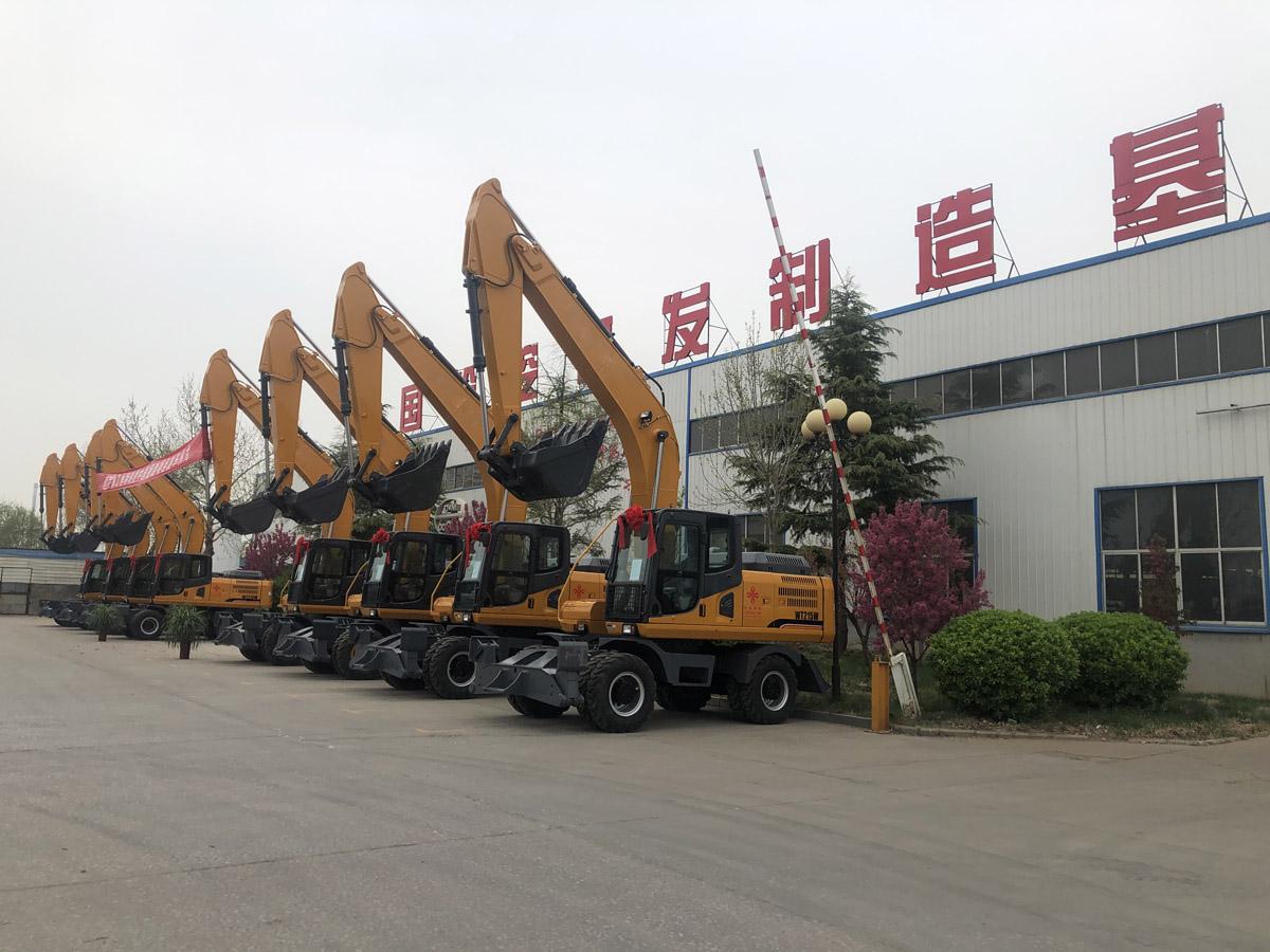 23,100Pcs Excavator Sales in June 2021