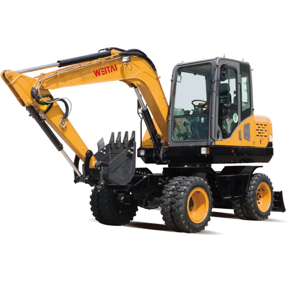 WT75W wheel excavator