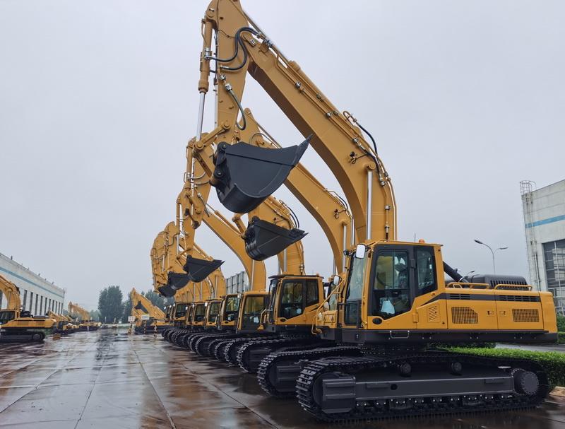 The Sales Volume of Excavators in September is keeping decreasing