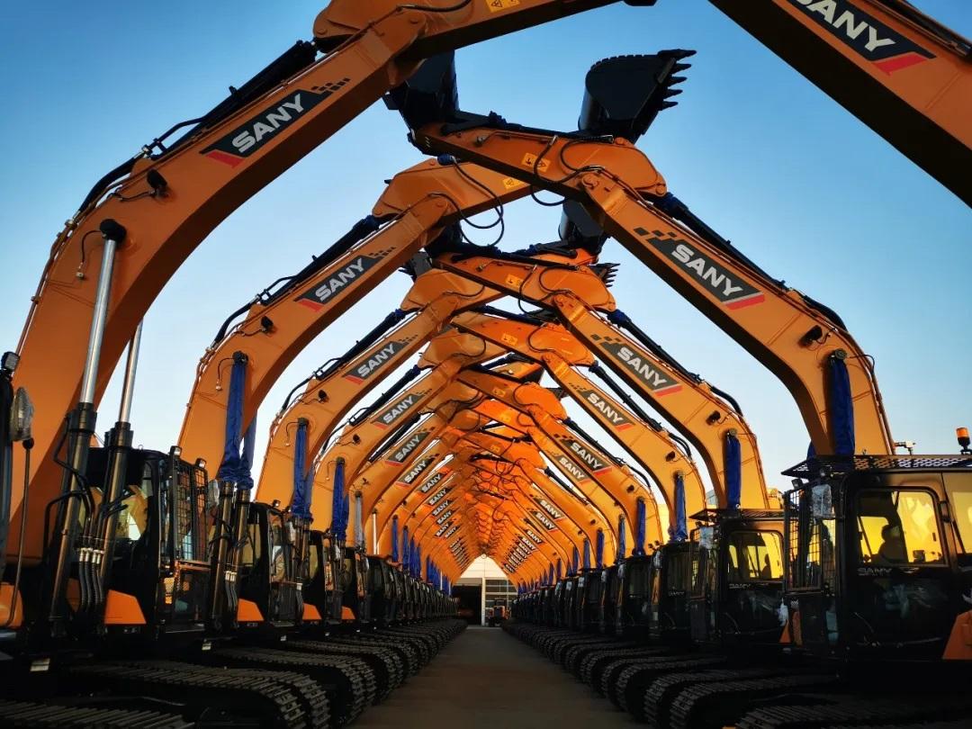 SANY excavator wins the global sales champion